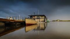 Houseboat, Strahan, Tasmania  FE 12-24 G + NiSi S5 Filter System (mark galer) Tags: fe sony 1224 filter nisi
