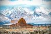 John Moulton Barn in Mormon Row at Grand Teton National Park (Jim Frazee) Tags: johnmoultonbarn mormanrow grandtetonnationalpark