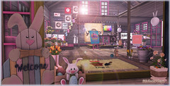 Heads-Up Land of Rainbows - Easter Egg Hunt - Barn Interior (Michaela Vixen) Tags: easter hunt 2018 landofrainbows event march mar 18 egg free ltd lovetodecorate zeusclub seraphim slhunts gaylist chezmoi tlg thelookingglass storaxtree adorablystrangewares source tlc duvetday serenitystyle