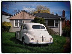 TOM'S '47 (shoebox50) Tags: olympuspenf oldcar chevrolet 1947chevrolet victoriabc canada vintage