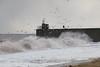 Stormy seas at Ravenscraig Beach  41 (Bill Cumming) Tags: fife kirkcaldy ravenscraig storm waves harbour pier