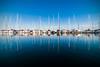 Marina di Ravenna (Ondablv) Tags: marina boat barche vela ravenna mare sea riflettere riflessioni ondablv night riflessi porto franco alberi vento