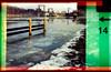 Winter am Kanal (Ulla M.) Tags: expiredfilm 110 holga holgagraphy pocketkamera ritschratschklick holga110tfs analog analogue weseldattelnkanal schleuse schleusedorsten dorsten winter toycamera toycam lomography lomo