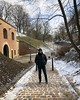 Percorrendo os caminhos nevados no complexo de Vyšehrad Castle em Praga 🏰 (jpcamolez) Tags: percorrendo os caminhos nevados no complexo de vyšehrad castle em praga 🏰