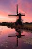 20170709-Canon EOS 6D-8382 (Bartek Rozanski) Tags: hoogmade zuidholland netherlands greenheart groenehart holland windmill wipmolen red summer sunset reflection water