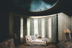 mimesis. (jonathancastellino) Tags: room set leica q series mimesis window ceiling cover wrapped curtain bedroom