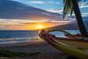 Kihei Sunset (Agrestic13) Tags: outrigger maui hawaii sunset kihei canoe club beach ocean maalaea bay kaheawa wind power