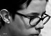 concentré (quentinmimi) Tags: enfant garçon portrait blanc noir gros plan adolescent