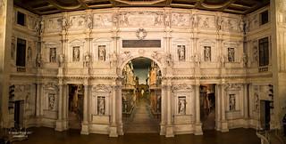 Teatro Olimpico, Vicenza, Italy UNESCO World Heritage Site (奥林匹克剧院, 意大利北方维琴察)
