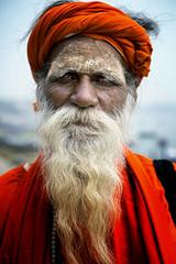 "Sadhu In Varanasi (El-Branden Brazil) Tags: varanasi india indian ganges ganga ceremony hindu hinduism asian asia sacred holy mystical ""south asia"" sadhu"
