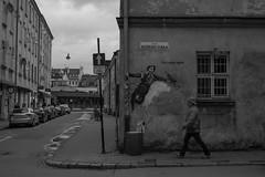 Arte Urbano (esparsa10) Tags: urban urbana polonia cracovia cracow bw nikon nikkor