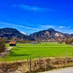 Landscape in Bavaria between Kiefersfelden and Oberaudorf near the river Inn thumbnail