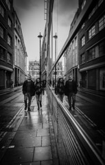 Week 9. Spotted (hmcgee18) Tags: street photography couple oxford circus reflections leading lines nikond3400 spotted symmetry reflection