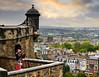 View over  Edinburgh (Beardy Vulcan II) Tags: edinburgh view castle city parapet lothian scotland summer september 2017 forth