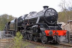 GROSMONT 030510 45428 (SIMON A W BEESTON) Tags: nymr northyorkshiremoorsrailway lms 5mt 45428 black5