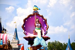 Festival of Fantasy Ariel (The Disney Marine) Tags: princess ariel little mermaid festival fantasy parade walt disney world magic kingdom