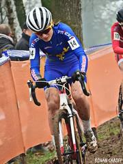 DSCN3164 (Ronan Caroff) Tags: cycling cyclisme ciclismo cyclist cyclists cycliste velo bike course race sport sports cyclocross cx mud boue women woman junior juniors quelneuc morbihan 56 bretagne breizh brittany france championnatdefrance championnat championship cup coupe dames femmes