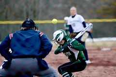 Head pitch (stephencharlesjames) Tags: womens sport college sports ncaa softball pitcher middlebury vermont action