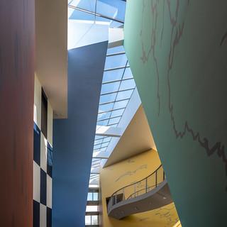 Interieur museum Hergé