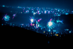 Night of Light II (Das_Felixle) Tags: night light sylvester fireworks colorful photography colorgrading lightroom long exposure color durbach