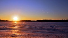 It's all about 'Being There' (Bob's Digital Eye) Tags: bobsdigitaleye canon efs24mmf28stm flicker flickr frozenlake h2o ice laquintaessenza lakesunset lakescape landscape march2018 silhouette snowscene sunset t3i winter wintercolour winterinmn