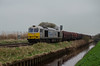 Wolves Empties (Sweeting Thorns) Tags: class 60 tug doughnut 60066 drax powering tomorrow wolverhampton steel terminal immingham 6e08 diesel locomotive freight train engine empty empties medge hall north lincolnshire promotional livery db cargo hoods drain water isle axholme