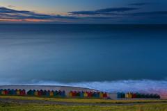 Colourful bathing houses (paul indigo) Tags: paulindigo coast landscape sea whitby