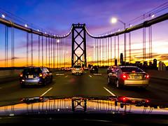 Every Now and Then the Stars Align (Thomas Hawk) Tags: america baybridge california sanfrancisco usa unitedstates unitedstatesofamerica bridge sunset us fav10 fav25 fav50 fav100