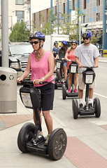 Segway Riders in Downtown Denver (photographyguy) Tags: denver colorado downtowndenver segway people urban segwaytours tour transportation downtown street