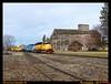w&i-oakesdale-2-10-2016a (funnelfan) Tags: train railroad railway shortline locomotive pnw pacificnorthwest washington oakesdale palouse flour mill oldbuilding wood building