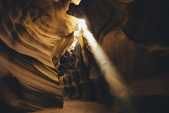 Brought to Light (Paul E.M.) Tags: slotcanyon arizona antelopecanyon erosion thecrack tsébighánílíní navajonation sandstone landscape