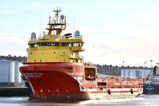 Viking Princess - Aberdeen Harbour Scotland - 17/4/2018