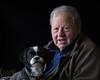 Boon Companions (Sue_Hutton) Tags: 35romwayclose april2018 basil lenhutton spring dog interior portraits