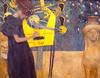Gustav Klimt, Die Musik (1895) (Weingarten) Tags: germania germany deutschland allemagne münchen neuepinakothek munich monacodibaviera peinture malerei painting pittura