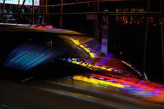 Reflections on Neon III (Arn_Thor) Tags: hong kong hongkong neon neonsign night nightphotography lights city urban street streetphotography fujifilm fujifilmxt20 fujixt20 sooc vivid cars people red traffic citylife travel china