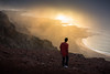 Veil (JoshyWindsor) Tags: atmospheric canaryislands lanzarote coastline spain miradordelrio agnitravel sunset golden mist rugged fog canonef70300mmf456l canoneos5dmarkiii viewpoint lookout