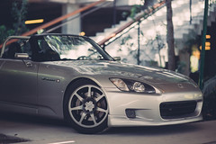 S2000 (Ricky Flores) Tags: honda s2000 nikon d700 85mm 14 miami downtown brickell sebring silver roadster digital lightroom momo prodrive gc07c craftsquare ap1 ap2 t1r mod78 kwsuspension