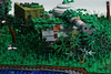 Tomb Raider: Ruined Tank (TheBrickNinja) Tags: lego tomb raider laura croft movie video game playstation world war plane tank adventure river waterfall trees eviroment