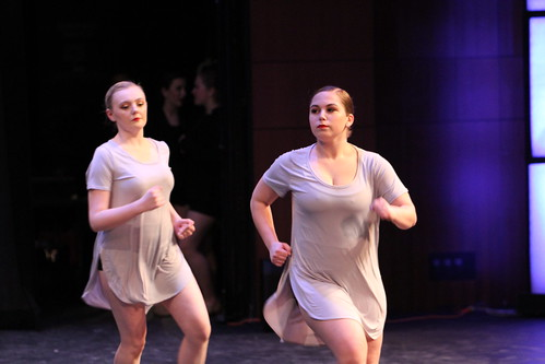 Rehearsal for Ann Arbor Dance Classics 2018 Benefit Show (Saline High School, Michigan)