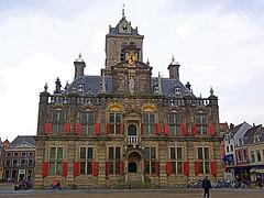 P1040707-DelftCityHall (robert.babnick) Tags: building hdr netherlands delft