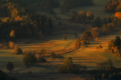 October's Golden Light (Bonnie And Clyde Creative Images) Tags: landscapes canon autumn poland europe sunrise
