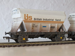 Custom OO Gauge Scratch Built PAA BIS Sand Hoppers finished weathered with etched Brass & Plasticard sheet used (37686) Tags: custom oo gauge scratch built paa bis sand hoppers finished weathered with etched brass plasticard sheet used