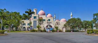 Opa Locka City Hall, 777 Sharazad Boulevard, Opa Locka, Miami-Dade Couny, Florida, USA / Architect: Bernhardt Muller / Completed: 1926 / Architectural Style: Moorish Revival architecture
