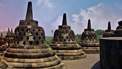 "INDONESIEN,Java, Borobudur - buddhistische Tempelanlage, perforierte Stupas, 17244/9752 (roba66) Tags: reisen travel explorevoyages urlaub visit roba66 asien südostasien asia eartasia ""southeastasia"" indonesien indonesia ""republikindonesien"" ""republicofindonesia"" indonesiearchipelago inselstaat java borobodur barabudur tempelanlage tempel temple yogyakarta ""mahayanabuddhismus""""buddhisttemple"" buddharelief statue bauwerk building architektur architecture arquitetura urban kulturdenkmal monument fassade façadeplatz places historie history historic historical geschichtestupa"