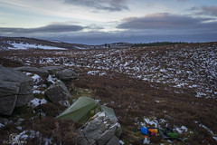 Cold Morning Light... (CamraMan.) Tags: tent wildcamp cold slatycrag bewcastlefells crags sky limestone cumbria peathags sunrise ©davidliddle ©camraman sonya7