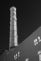 Energi (Edd Noble) Tags: göteborgenergi powerstation göteborg gothenburg sweden scandinavia infrared irphotography infraredphotography 830nm sonya7 minoltamd45mmf2
