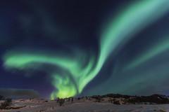 Aurora borealis 7 (José M. Arboleda) Tags: aurora auroraboreal northernlights noche cielo color nube estrella astronomía tromsø noruega canon eos 5d markiv ef1635mmf4lisusm josémarboledac