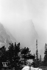 Looming (Wil Lyons) Tags: rocky mountain national park 35mm film travel mountains cold snow ice hiking adventure rmnp rockies