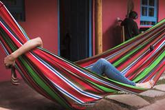 San cristobal (Mika Lander) Tags: hamac mexique sancristobal chiapas xt2 fujifilm fuji xf23mmf14 vacances voyage détente repos chaussette