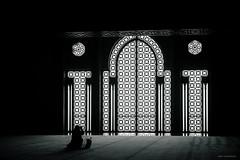 (Laszlo Horvath.) Tags: casablanca morocco marokko marocco nikond7100 sigma1835mmf18art silhouette blackwhite blackandwhite bw blacklight hassan ii mosque